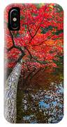 Tree In The Pond IPhone Case