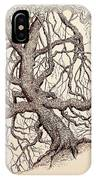 Tree In Winter II IPhone Case