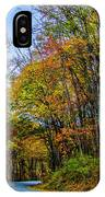 Tree Lined Road IPhone Case