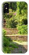 Tree Lined Steps IPhone Case