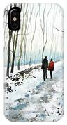 Tree Lined Stroll IPhone Case