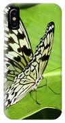 Tree Nymph Butterfly IPhone Case