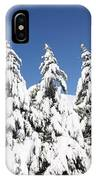 Tree-o Of Evergreens IPhone Case