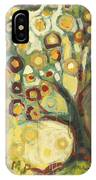 Tree Of Life In Autumn IPhone Case