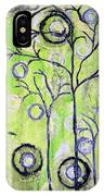 Tree Of Life Spring Abstract Tree Painting  IPhone Case