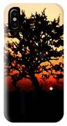 Tree On Fire IPhone Case