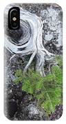 Tree On Rock IPhone Case