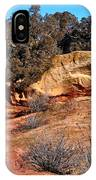 Tree On Titan Road IPhone Case