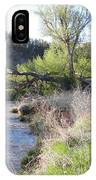 Tree Over The River IPhone Case