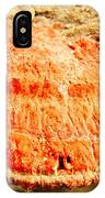Tree Shell In Shades Of Pumpkin IPhone Case