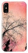 Tree Silhouettes I IPhone Case