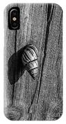 Tree Snail Black N White IPhone Case