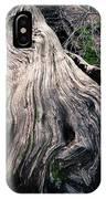 Tree Stump IPhone Case