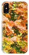 Tree With Autumn Leaves IPhone Case