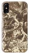 Tree With Tangle Of Roots IPhone Case