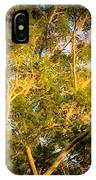 Tree With V Shaped Branches IPhone Case