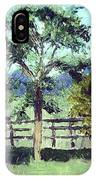 Treeo In The Paddock IPhone Case