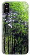 Trees Along The Umpqua River 2 IPhone Case