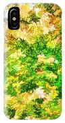 Trees And Leaves  IPhone Case