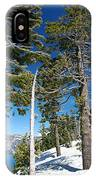 Trees And Snag At Crater Lake IPhone Case
