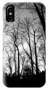 Trees At Dusk IPhone Case