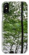 Trees At Lake Schlachtensee IPhone Case