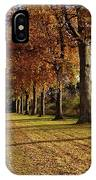 Trees At The Park IPhone Case