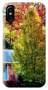 Trees Backlit By The Sun 0576t2 IPhone Case