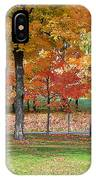 Trees Begins Autumn Color IPhone Case