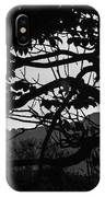 Trees Black And White - San Salvador IPhone Case