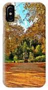 Trees In Autumn IPhone Case