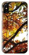 Trees In Fall Fashion IPhone Case