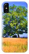 Trees In Field IPhone Case