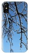 Trees In Ice IPhone Case