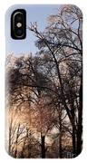 Trees In Ice Series IPhone Case