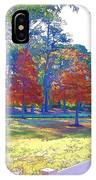 Trees In Park 1 IPhone Case