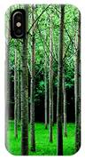 Trees In Rows IPhone Case by Julian Perry