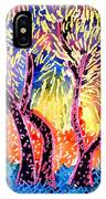 Trees In Summer IPhone Case