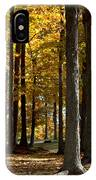 Tree's In The Forest IPhone Case