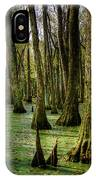 Trees In The Swamp IPhone Case