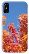 Trees Landscape Art Print Fall Tree Leaves Baslee Troutman IPhone Case