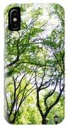 Trees Of Central Park, Nyc IPhone Case