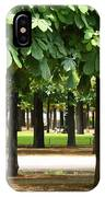 Trees Of Tuilieres IPhone Case