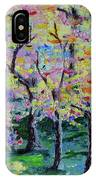 Trees On Hideaway Ct IPhone Case