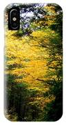 Trees Over The Flumes Gorge IPhone Case