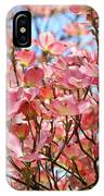 Trees Pink Spring Dogwood Flowers Baslee Troutman IPhone Case