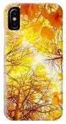 Trees Toward The Sun IPhone Case