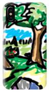 Trees W Water Ddl IPhone Case