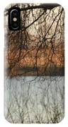 Trees With A Reflection IPhone Case