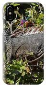 Treetop Iguana IPhone Case